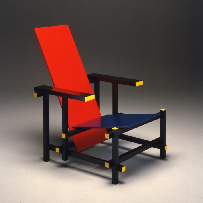 Cassina, Red and Blue Gerrit Thomas Rietveld
