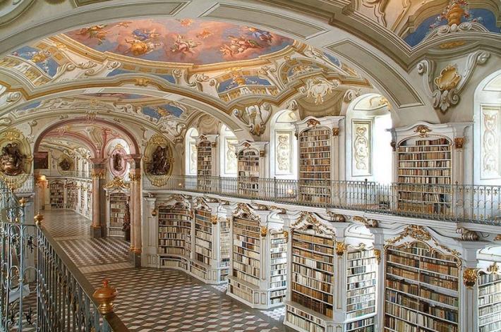 abbazia di Admont- sempre in Austria