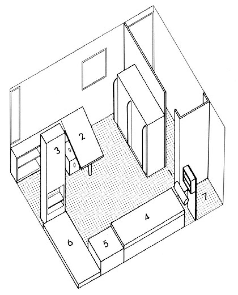 LE CORBUSIER | Cabanon | planzine. - Cabanon Le Corbusier