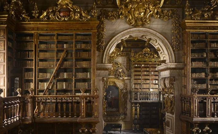 biblioteca Joanina dell'Università di Coimbra