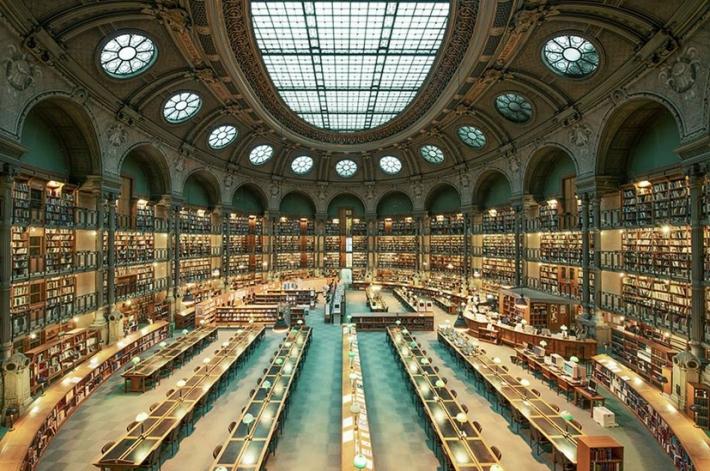 biblioteca Nazionale di Francia- sempre a Parigi