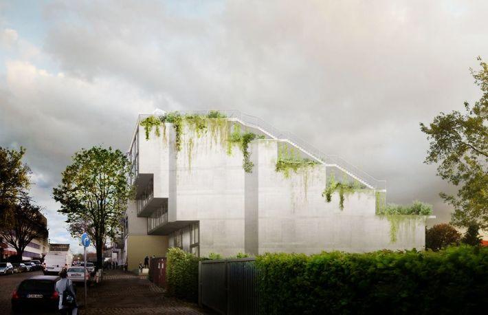 Brandlhuber + . LoBe Building . Berlin