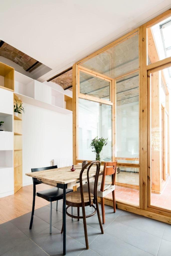 CAVAA . Vivienda y patio en el Poblenou . Barcelona (6)