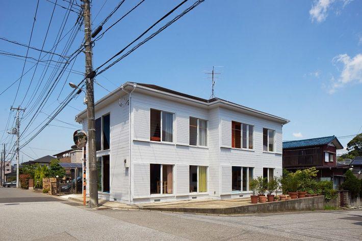 Kochi Architect's Studio. Apartment House . Chiba  (10)