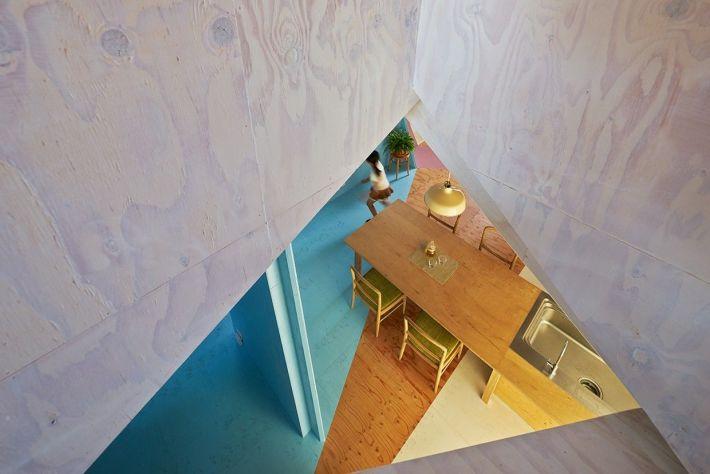 Kochi Architect's Studio. Apartment House . Chiba  (4)