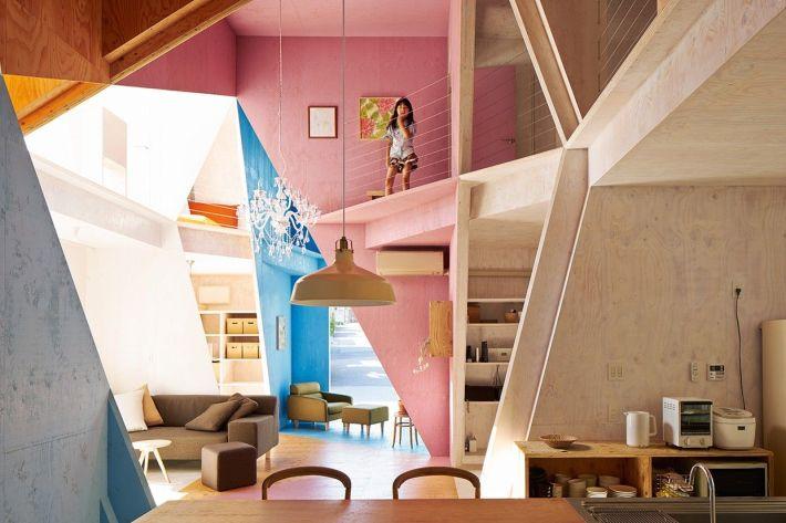 Kochi Architect's Studio. Apartment House . Chiba  (5)